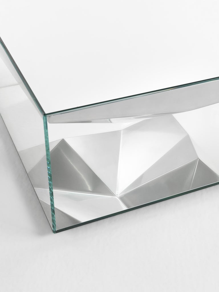 JCP Universe Dolmlod Coffee Table 'Square' by Samer Alameen In New Condition For Sale In Cantu, IT