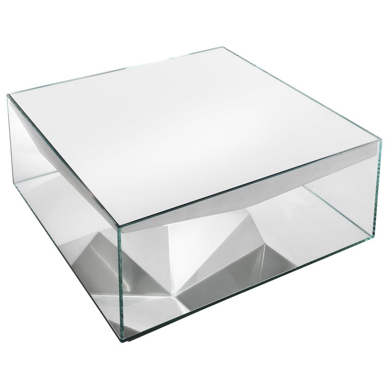 JCP Universe Dolmlod Coffee Table 'Square' by Samer Alameen For Sale
