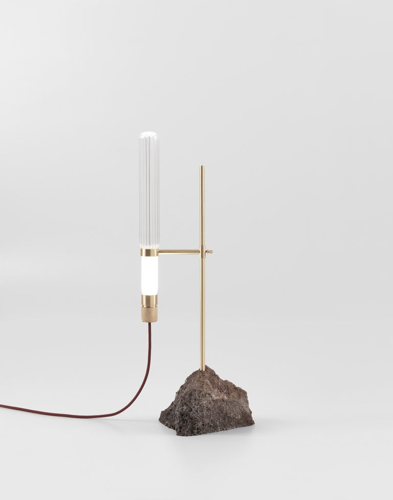 Modern Jumbo Group/JCP Universe Kryptal Table Lamp by Ctrlzak For Sale