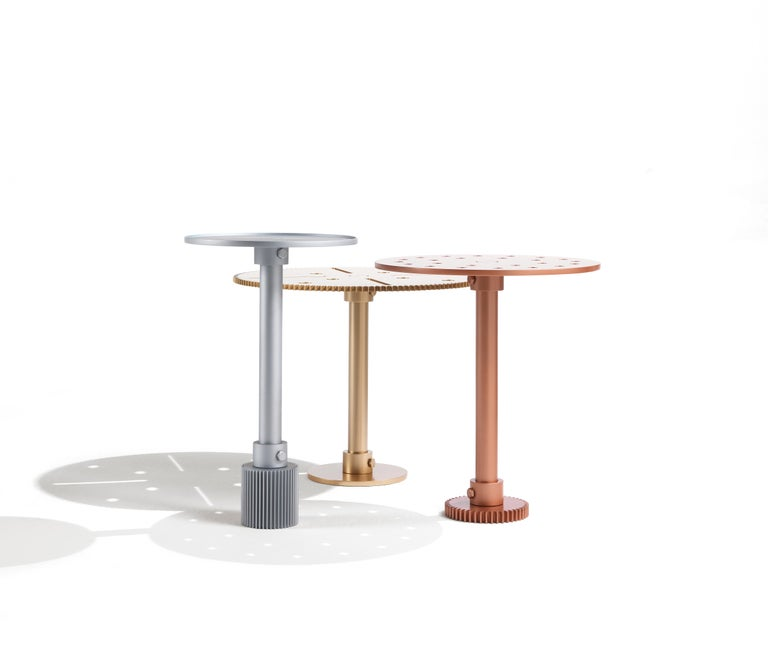 Contemporary JCP Universe Maseen E Side Table by Samer Alameen For Sale