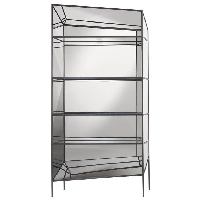 Jumbo Group/JCP Universe Perfect Large Bookshelves-Cabinets by Sam Baron For Sale