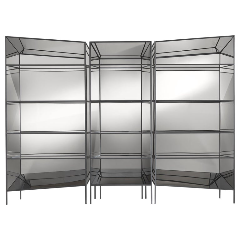 Jumbo Group/JCP Universe Set of Three Perfect Bookshelves-Cabinets by Sam Baron For Sale