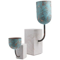 Jumbo Group/JCP Universe Small Aboram Vase in Dolce Vita Marble by Sam Baron