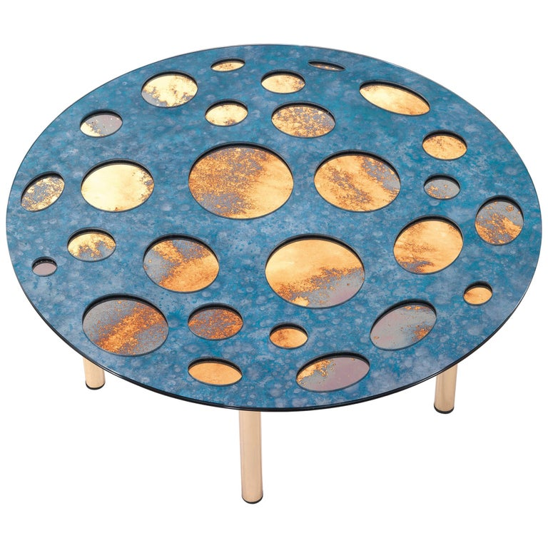 For Sale: Blue (Cobalt Blue Volcano) Jumbo Group/JCP Universe Small Venny Coffee Table by Matteo Cibic