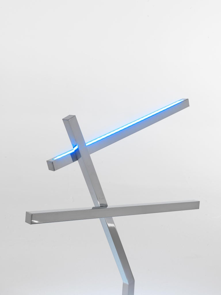 Modern Jumbo Group/JCP Universe Sun-Ra Bird Table Lamp by Nanda Vigo For Sale