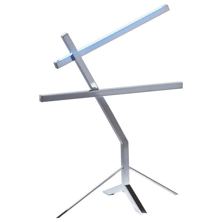 Jumbo Group/JCP Universe Sun-Ra Bird Table Lamp by Nanda Vigo For Sale