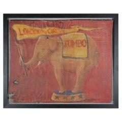 Jumbo London Zoo Sideshow Banner