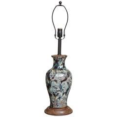 Jun Ware Lamp