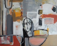 """""""Assemblage"""", Painting, Acrylic on Canvas"""