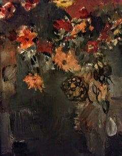 """Flowers For Brueghel"", Painting, Acrylic on Canvas"