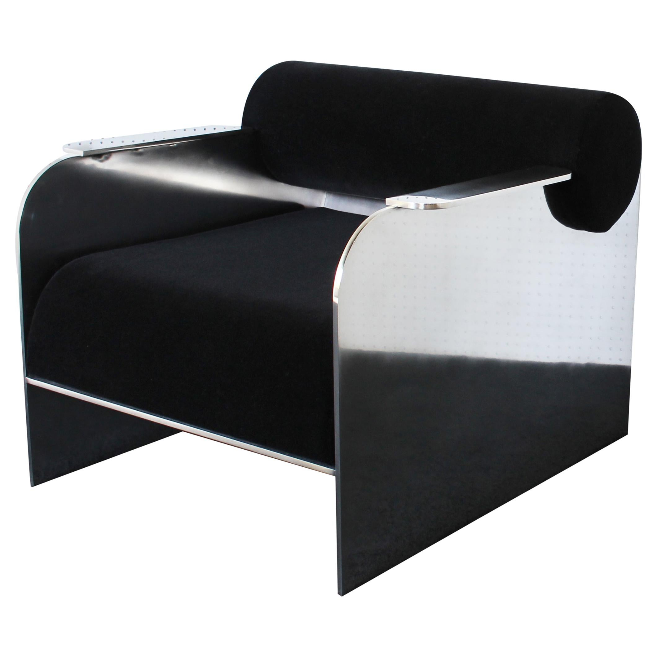 June Modern Lounge and Club Chair Indoor or Outdoor