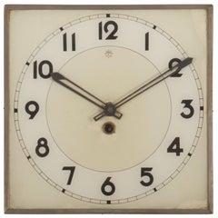 Junghans Art Deco Wall Clock