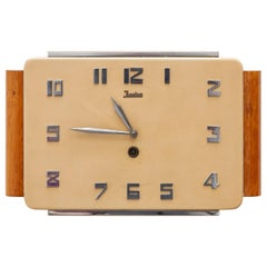 Junghaus Wall Clock Art Deco, Germany
