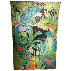"""""""Jungle aux oiseaux"""" Signed by Anne Leurent"""