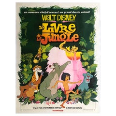 Jungle Book Original French Grande Film Poster, 1967
