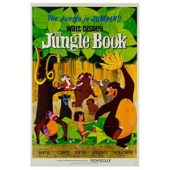 Jungle Book Original US Film Poster, 1967