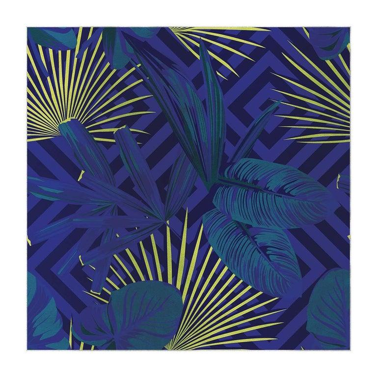 Jungle Dream Purple Panel For Sale