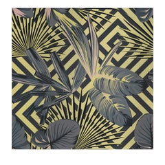 Jungle Dream Yellow Panel