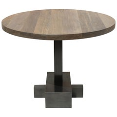 Juno Customizable Round Pedestal Table by Laylo Studio