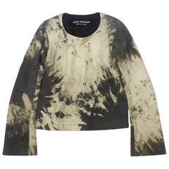 Junya Watanabe 1996 Collection Wool Tie Dye Effect Top