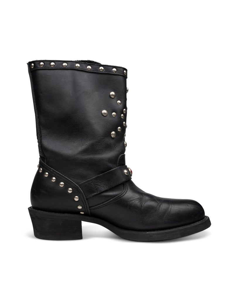 Women's or Men's Junya Watanabe AW2002 Studded Engineer Boots For Sale