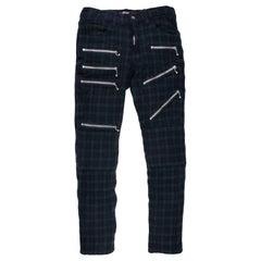 Junya Watanabe AW2007 Plaid Zipper Pants