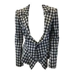 Junya Watanabe Black and White Print Jacket