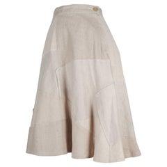 Junya Watanabe CDG Linen A-Line Skirt, 2013
