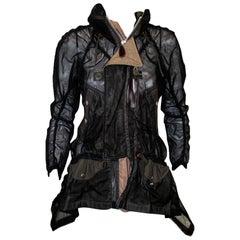 Junya Watanabe Comme des Garcons Black Mesh Jacket