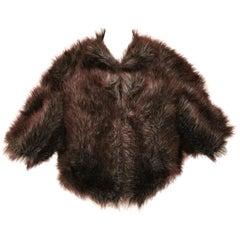Junya Watanabe Comme des Garcons Faux Fur Ball Jacket/Shrug F/W 2011