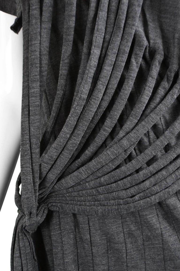 Junya Watanabe Comme Des Garcons Knit Fringe Dress For Sale 1