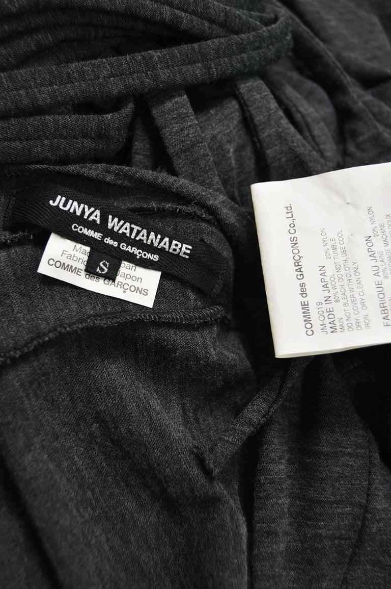 Junya Watanabe Comme Des Garcons Knit Fringe Dress For Sale 3