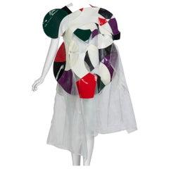 Junya Watanabe Comme des Garcons Orphic-Cubism Dress Runway, 2015
