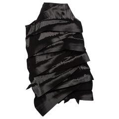Junya Watanabe Comme des Garcons Sculptural Black Avant Garde Skirt