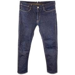 JUNYA WATANABE Size M Indigo Contrast Stitch Denim Jeans