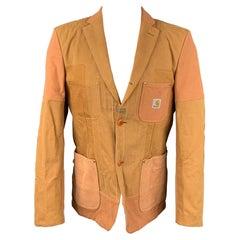 JUNYA WATANABE x CARHARTT Size M Mustard Patchwork Cotton Jacket