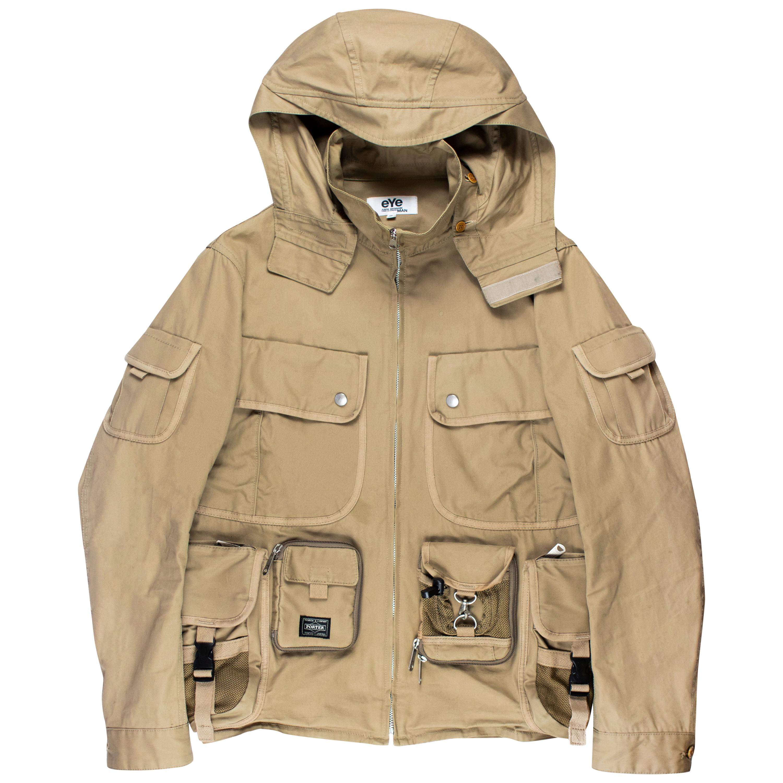 Junya Watanabe x Porter SS2009 Hooded Cargo Jacket