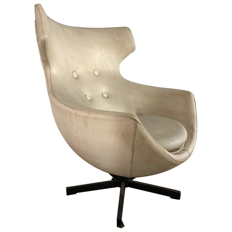 """""""Jupiter"""" Armchair by Pierre Guariche for Meurop, France, 1960s For Sale"""