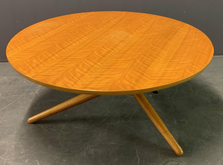 Wood Jürg Bally Coffee or Dining Table For Sale
