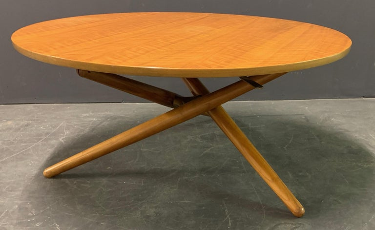 Jürg Bally Coffee or Dining Table For Sale 1