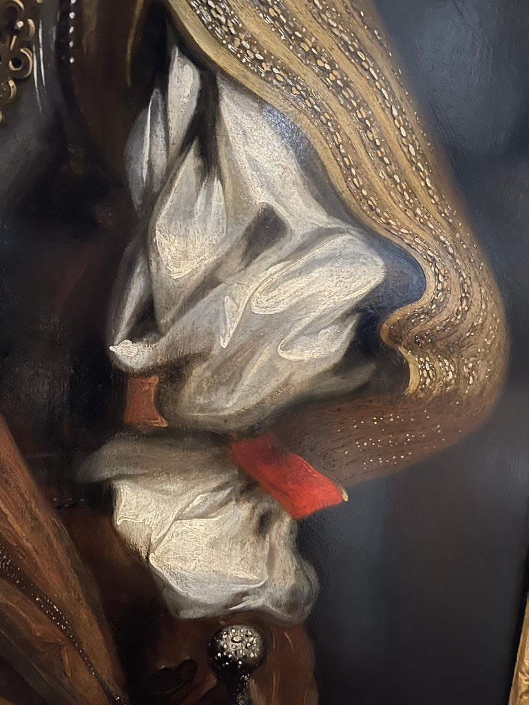 Portrait of VOC Governor Rijcklof van Goens (1619-1682) in 1656 , 37 yrs of age For Sale 1
