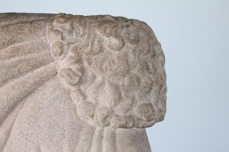 Just Andersen, Denmark, 1940s, Sandstone Sculpture of Samson and the Lion For Sale 3