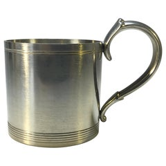 Just Andersen, Denmark, Vintage Polished Pewter 1940s Hot Toddy Cup #1289
