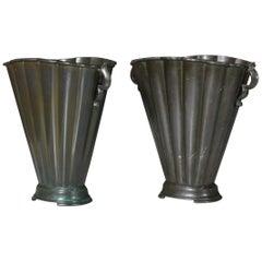 Just Andersen Disko Metal Vases