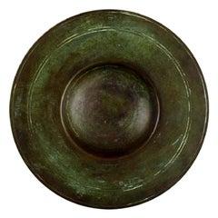 Just Andersen Style, Art Deco Bronze Dish / Bowl, 1940s