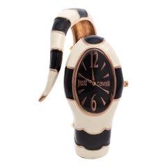 Just Cavalli Black Enamel Metal Poison 7253153506 Women's Wristwatch 27 mm
