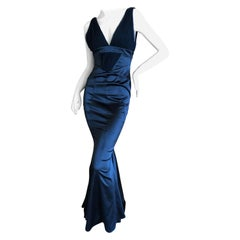 Just Cavalli by Roberto Cavalli Black Mermaid Gown