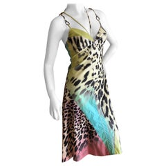 Just Cavalli by Roberto Cavalli Sweet Multi Animal Print Cotton Mini Dress