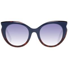 Just Cavalli Mint Women Blue Sunglasses JC786S 5392W 53-23-150 mm