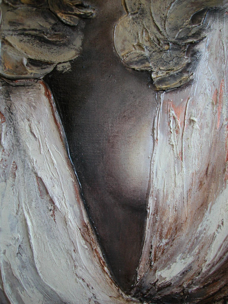 Other Justice III, Contemporary Figurative Oil Painting by Guusje Bertholet For Sale